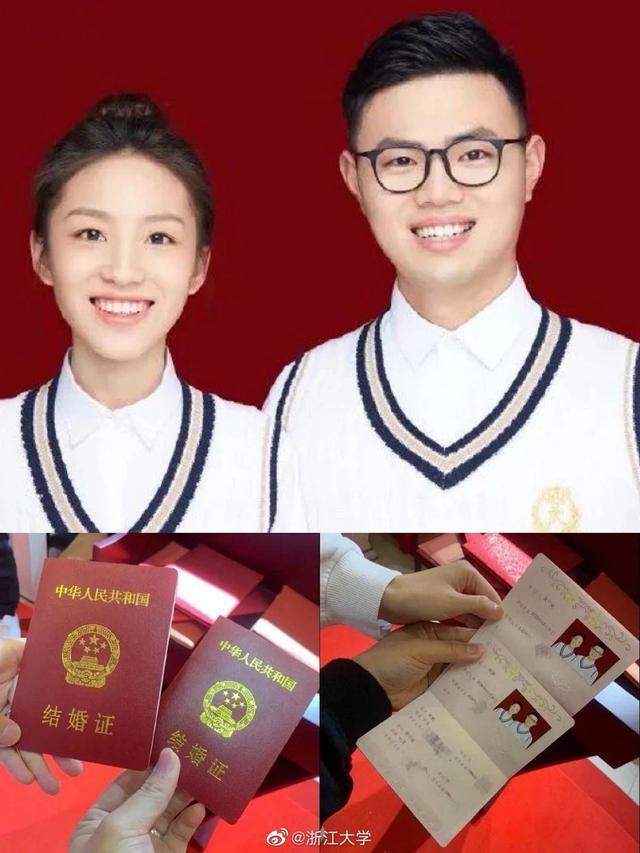 """浙大四院护士陈颖和""""隔着玻璃门和口罩亲吻""""的男友今天结婚"""