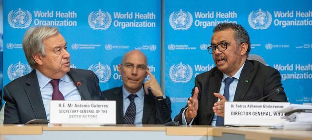 """联合国秘书长反对美国""""断供"""":疫情期间支持世卫组织至关重要  第3张"""