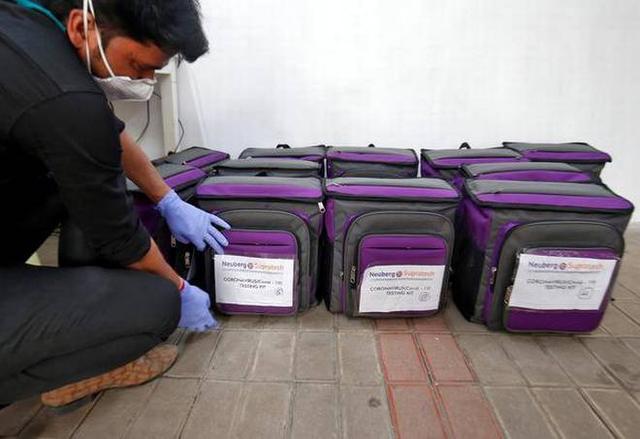 印度终于等来了中国的试剂盒  第1张