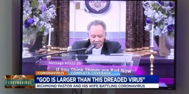 """宣称""""上帝比病毒强大""""的美国牧师死于新冠后,4名亲属也确诊  第2张"""