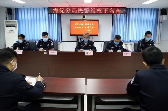 酒后闯卡还对警察挥刀,拘!北京海淀严惩袭警违法行为  第1张