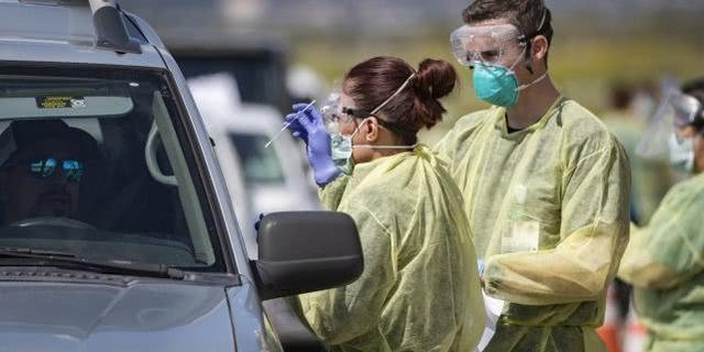 研究称美国洛杉矶可能超20万人感染新冠病毒,远超官方数据