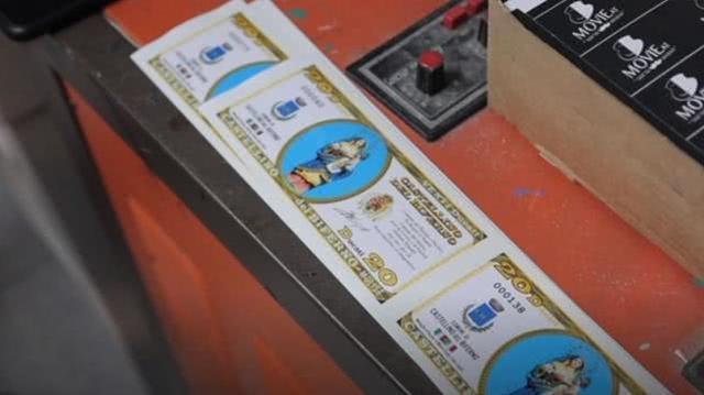 """疫情期间意大利小镇自己印""""钞票"""",帮助弱者保护当地经济  第3张"""