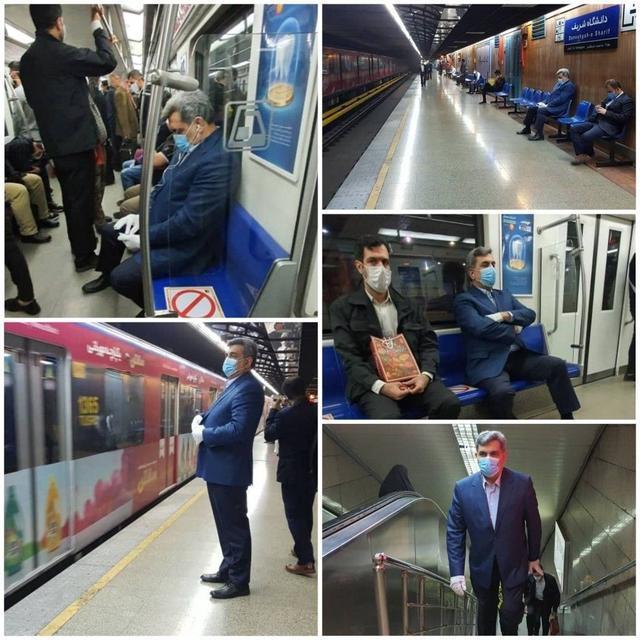 伊朗内政部:乘坐公共交通工具必须佩戴口罩和手套