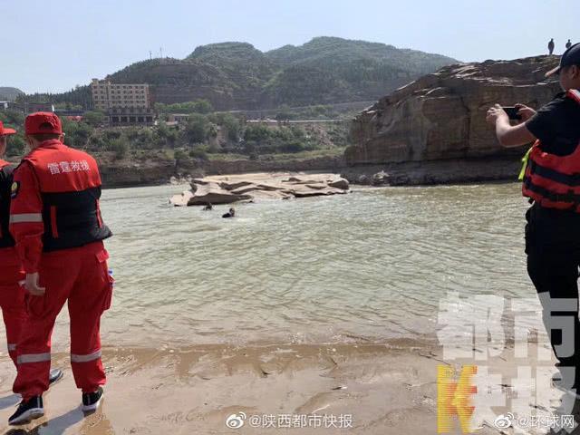 陕西省坠落大河一家四口最终一位死难者寻找  第1张