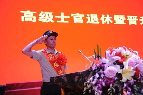 受习总书记7次会见的兵王,宣布离休  第1张