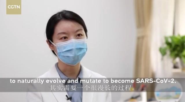 她初次同意答复提出质疑:大家上年12月30号才第一次接触这类病毒感染  第1张