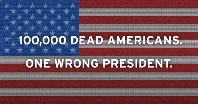 100000收尸袋=美国国旗,外国媒体又一次被震撼人心了  第5张
