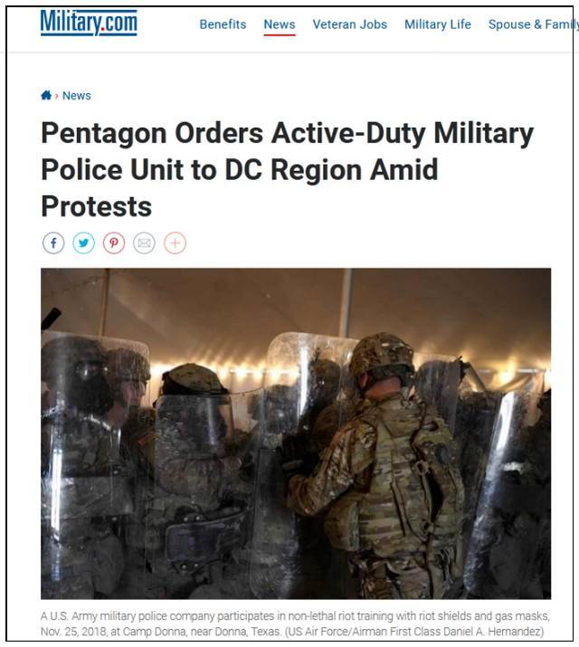 美国媒体:外交部一声令下空降部队布署北京首都  第1张