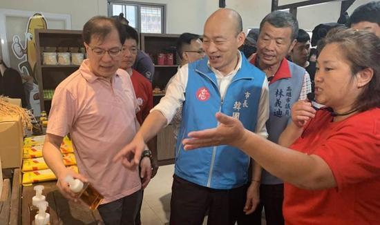 网络投票完毕 韩国瑜高雄市长免去案得到 根据