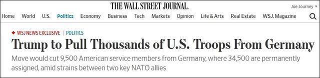 英国将撤9500名驻德美军,德高官:那大家更反美了  第2张