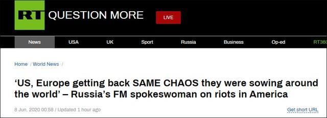 俄外交部新闻发言人又开讽刺了  第1张
