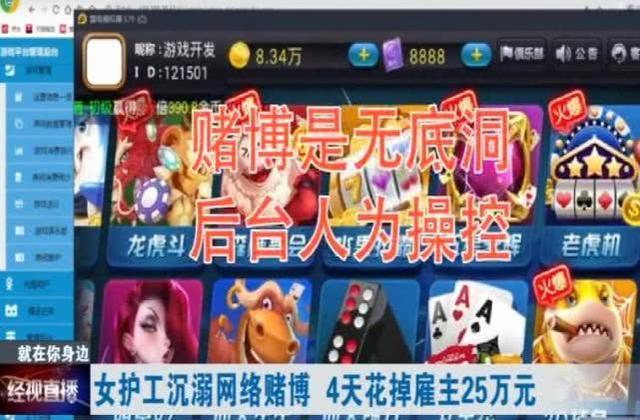 内蒙古自治区一护理员沉迷游戏赌钱,入岗四天用掉顾主25万余元  第15张