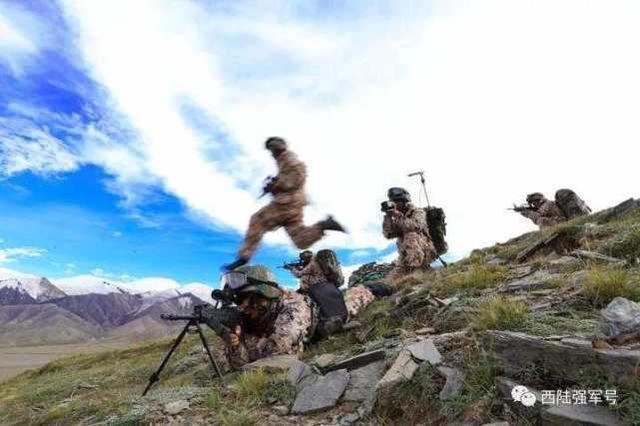 西部战区海军常态砺兵严寒山坡地:仗在哪儿打,就在哪儿精训实练  第5张