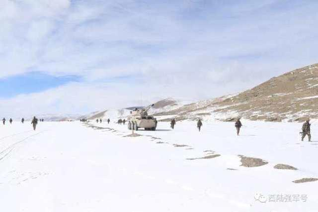 西部战区海军常态砺兵严寒山坡地:仗在哪儿打,就在哪儿精训实练  第11张