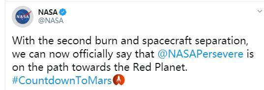 """英国""""恒心号""""火星探测器取得成功发送!  第1张"""