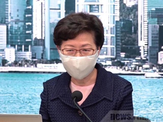 """林郑月娥:除非是应用""""核方式"""",不然都能够应对!  第1张"""