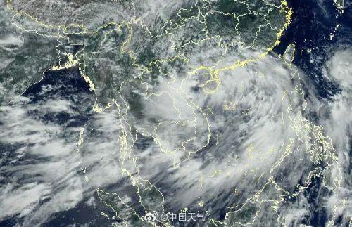 """强台风""""森纳克""""转化成结束,网民:该来的還是来啦  第3张"""