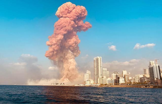 黎巴嫩首都产生极大发生爆炸 最少73人死亡3000多的人负伤  第1张