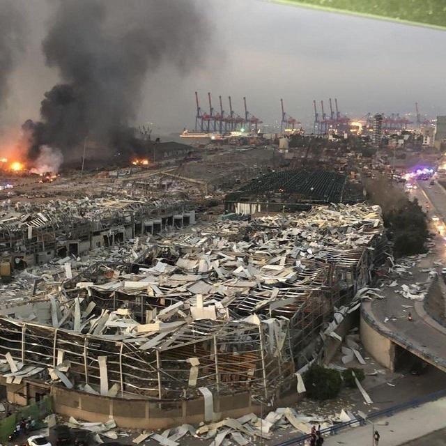 黎巴嫩首都产生极大发生爆炸 最少73人死亡3000多的人负伤  第2张