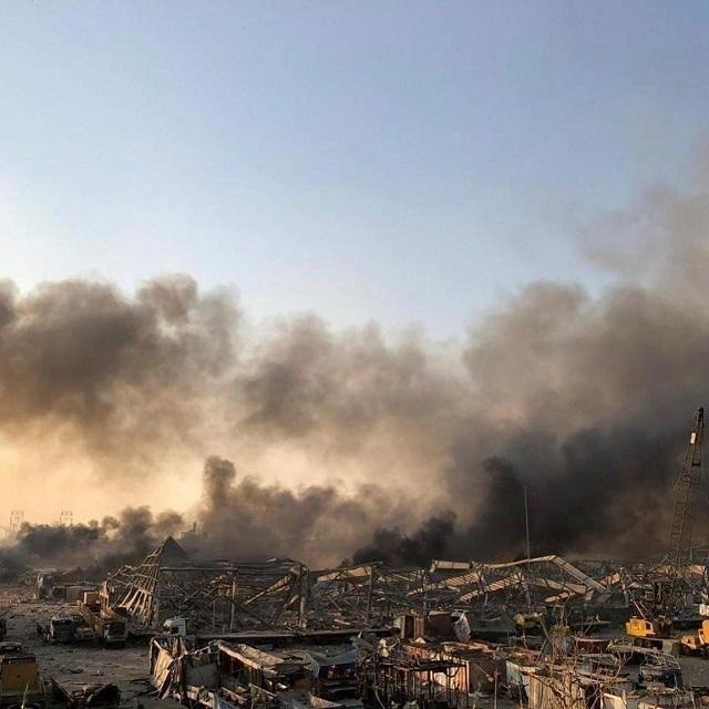 黎巴嫩首都产生极大发生爆炸 最少73人死亡3000多的人负伤  第3张