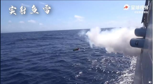 香港媒体:驻港部队东海多学科演习,发送鱼雷艇反潜是重中之重  第2张