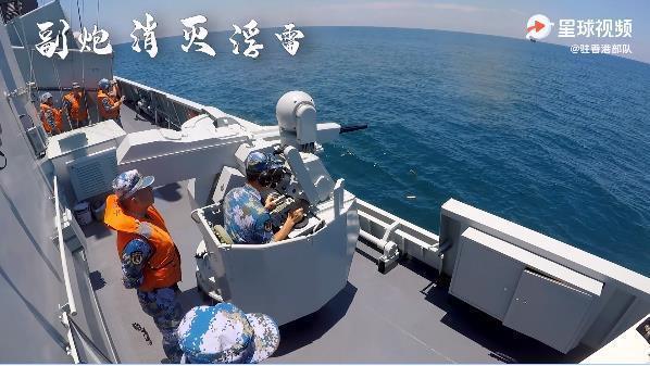 香港媒体:驻港部队东海多学科演习,发送鱼雷艇反潜是重中之重  第3张