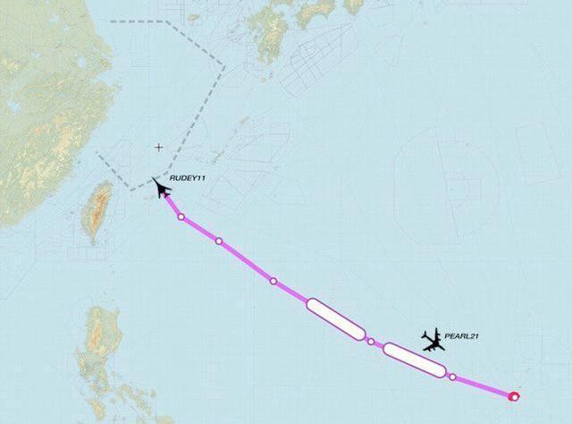 台湾媒体:中国人民解放军台海实战演练化演练之时 美国军队战略轰炸机抵近南海防空识别区  第1张