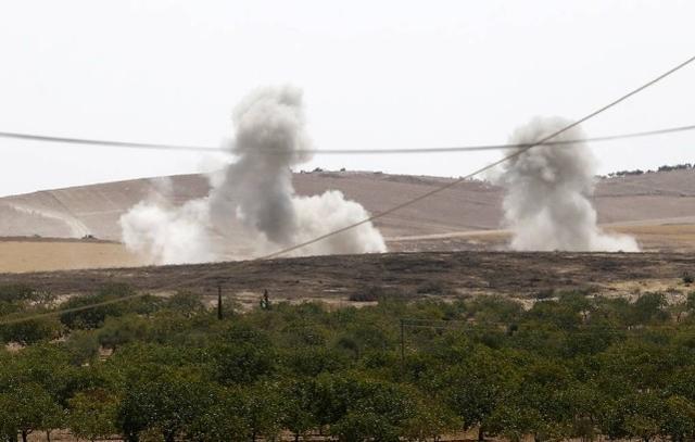 叙乌克兰政府一处监测站遭美国军队轰炸 先前曾回绝美国军队运输队根据  第2张