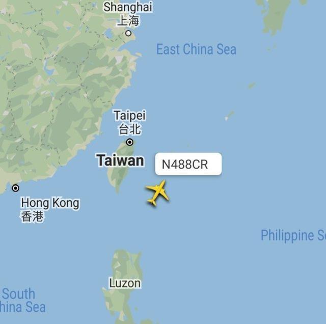 台湾媒体:美陆军战机今飞跃台东部地区航线,能为远程控制火箭弹狙击精准定位  第3张