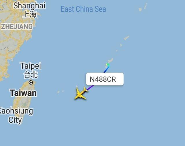 台湾媒体:美陆军战机今飞跃台东部地区航线,能为远程控制火箭弹狙击精准定位  第2张
