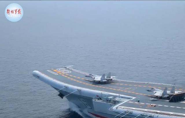 看当场!歼-15战斗机契形红警快捷键超越海空  第1张