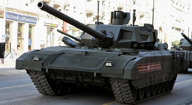 """感受到对手工作压力?俄T-14""""阿玛塔""""重型坦克要升級152mm主炮  第1张"""