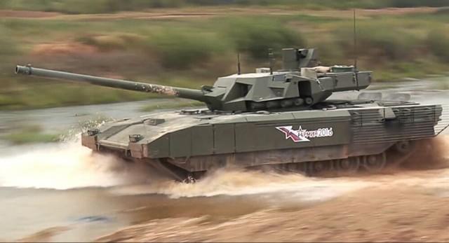 """感受到对手工作压力?俄T-14""""阿玛塔""""重型坦克要升級152mm主炮  第2张"""