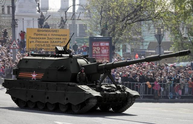 """感受到对手工作压力?俄T-14""""阿玛塔""""重型坦克要升級152mm主炮  第3张"""