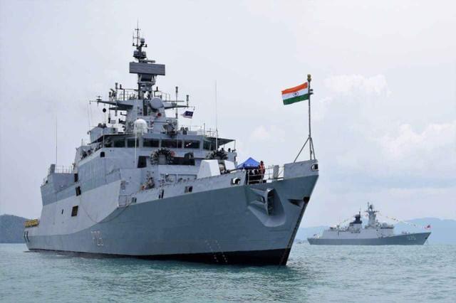 印度媒体:中印边界矛盾期内印尼密派舰艇前去东海  第1张