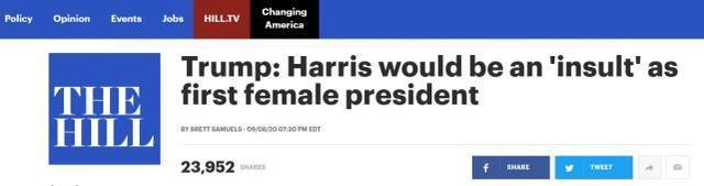"""川普:桑德斯变成第一位女总统,将是对英国的""""污辱""""  第1张"""