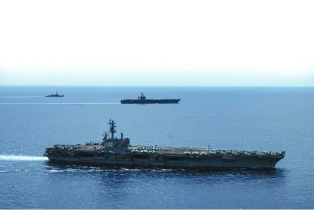 武器装备没有人加油枪 发展趋势远程控制战机解决中国导弹,美国军队加强航空母舰  第2张