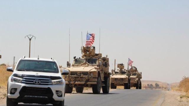 公布撤兵后,美国军队运输队从伊朗偷越驶往叙北边军事禁区  第2张