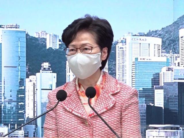 林郑月娥:12名被拘留的香港居民在返回香港前,必须按照内地法律处理