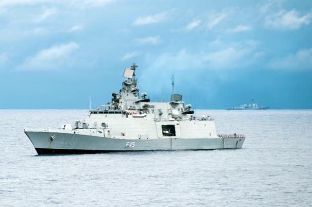印度-澳大利亚海上联合军事演习:由于疫情,双方人员不得进行身体接触  第2张