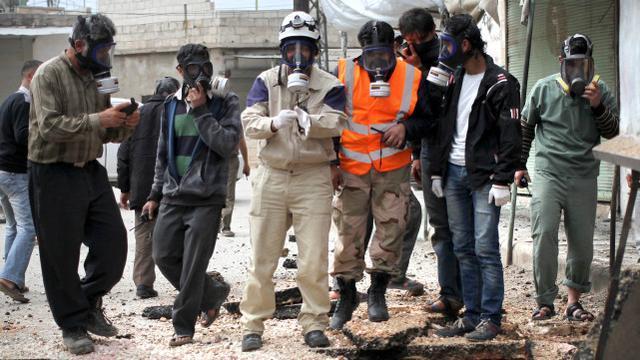 """叙利亚政府:恐怖分子和""""白盔""""指责政府导致了武侠片的演变  第2张"""