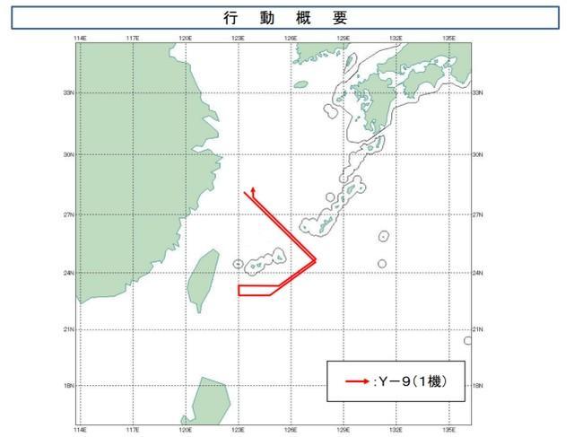 近三个月后,解放军飞机飞到宫子海峡,日本紧急派出战斗机处理此事  第2张