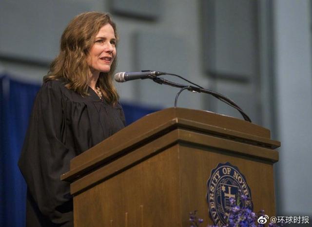 美国媒体:特朗普打算提名巴雷特为最高法院法官  第2张
