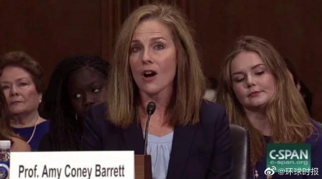 美国媒体:特朗普打算提名巴雷特为最高法院法官