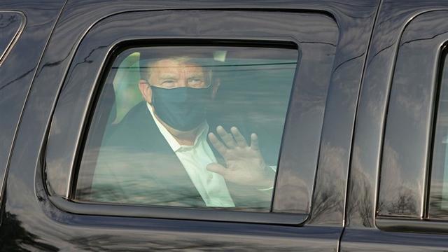 白宫医生:特朗普两次血氧饱和度下降  第2张