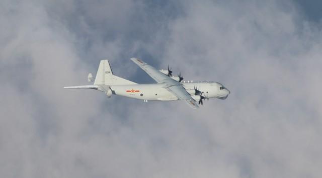 国庆假期第7天,解放军空军警察-500进入台湾西南领空  第2张