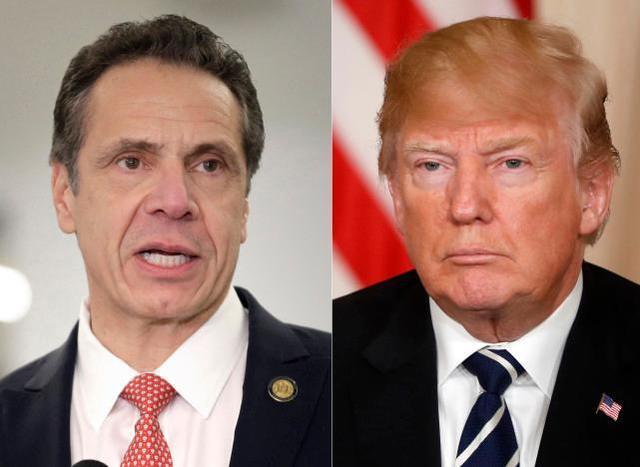"""纽约州州长指责特朗普""""煽动分裂"""",但给出的证据是荒谬的  第2张"""