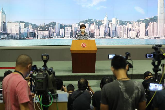 林郑月娥:我这个月去北京跟中央部委谈判,施政报告会延期  第1张