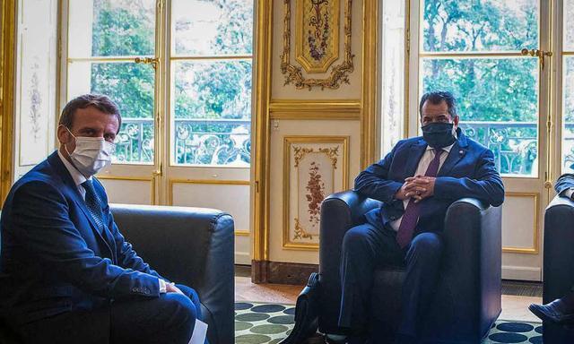 波利尼西亚总统新冠肺炎检测呈阳性,四天前会见了马克龙  第1张